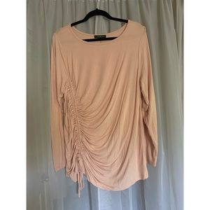 Blush Ruched Top